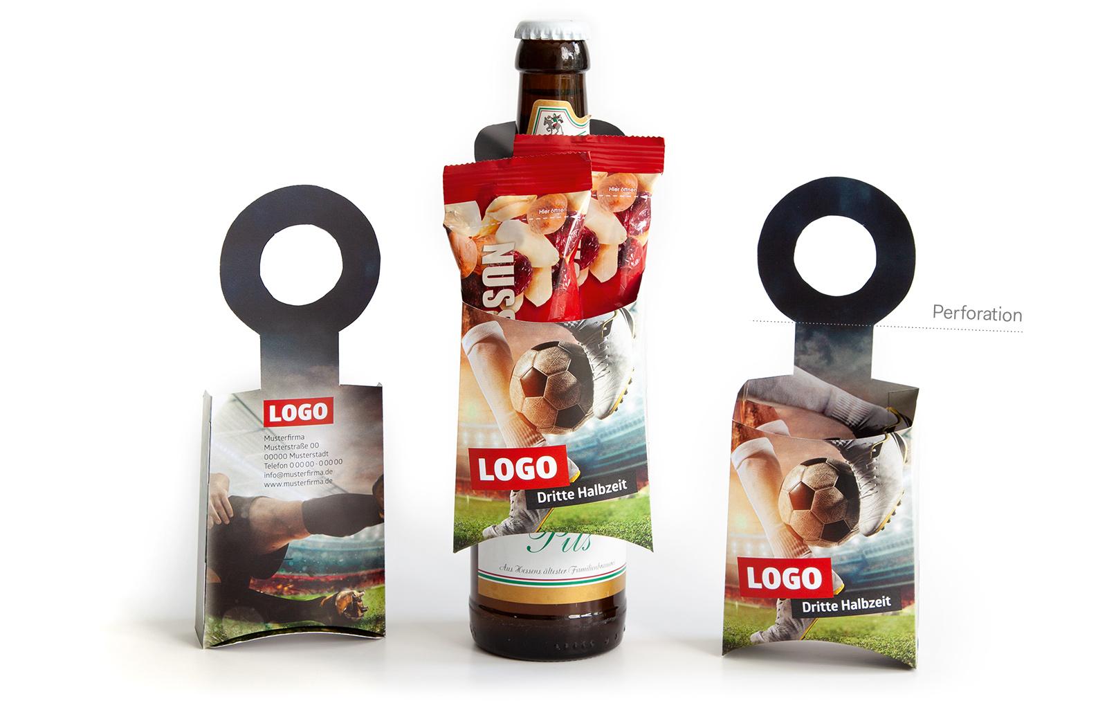Fussball Spielplan Flaschenanhaenger Dritte Halbzeit Werbemittel EM 2021