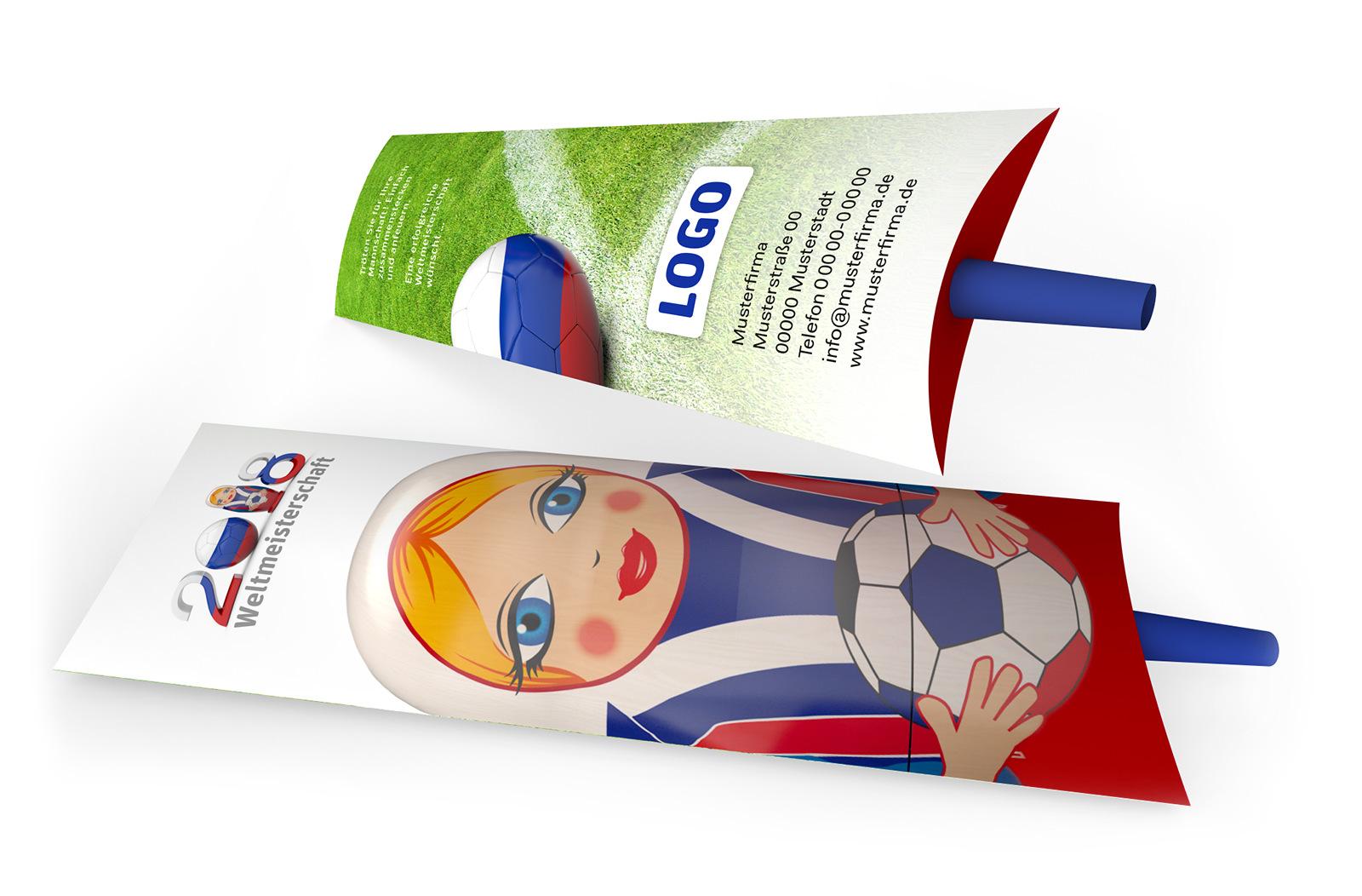 Fußball Spielplan WM 2018 Matrötschka, die russische Vuvuzela.