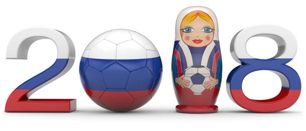 Fussball Spielplan WM 2018 Werbemittel