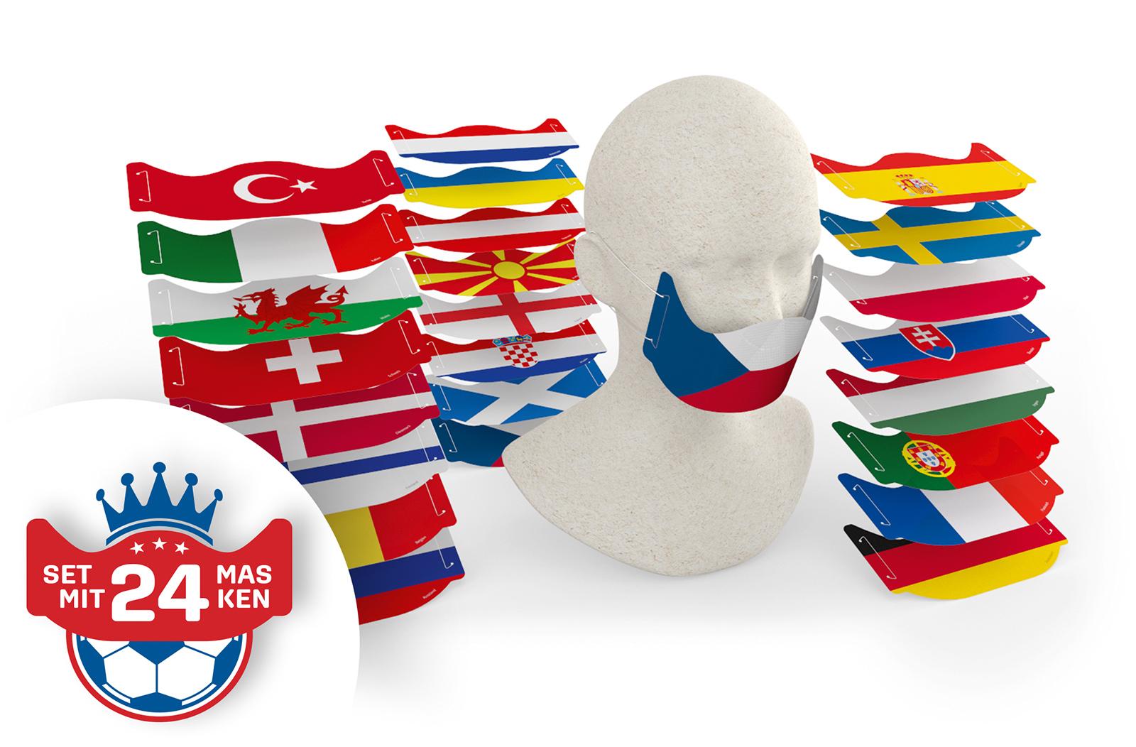 Mund-Nasenschutz-Schutzmaske-Mundschutz-Covid19-Corona-Fussball-Spielplan-EM-2021