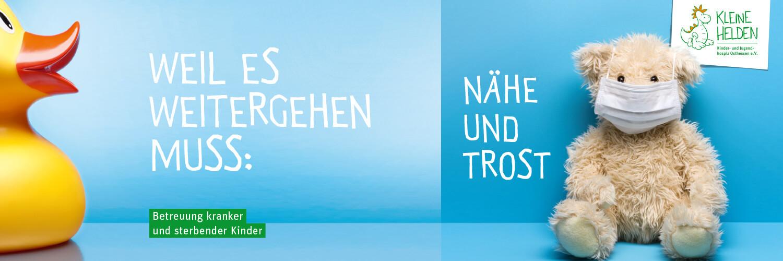 JD Druck sponsert Drucksachen für Kinderhospitz Kleine Helden